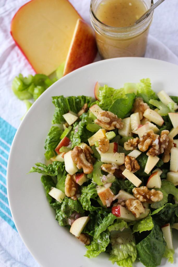 Celery Apple Salad // Fork in the Kitchen