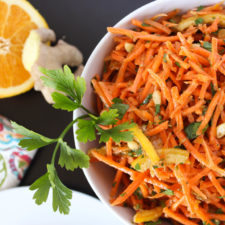 Moroccan Carrot Salad // Fork in the Kitchen