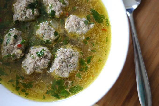 30-minute Meatball Soup