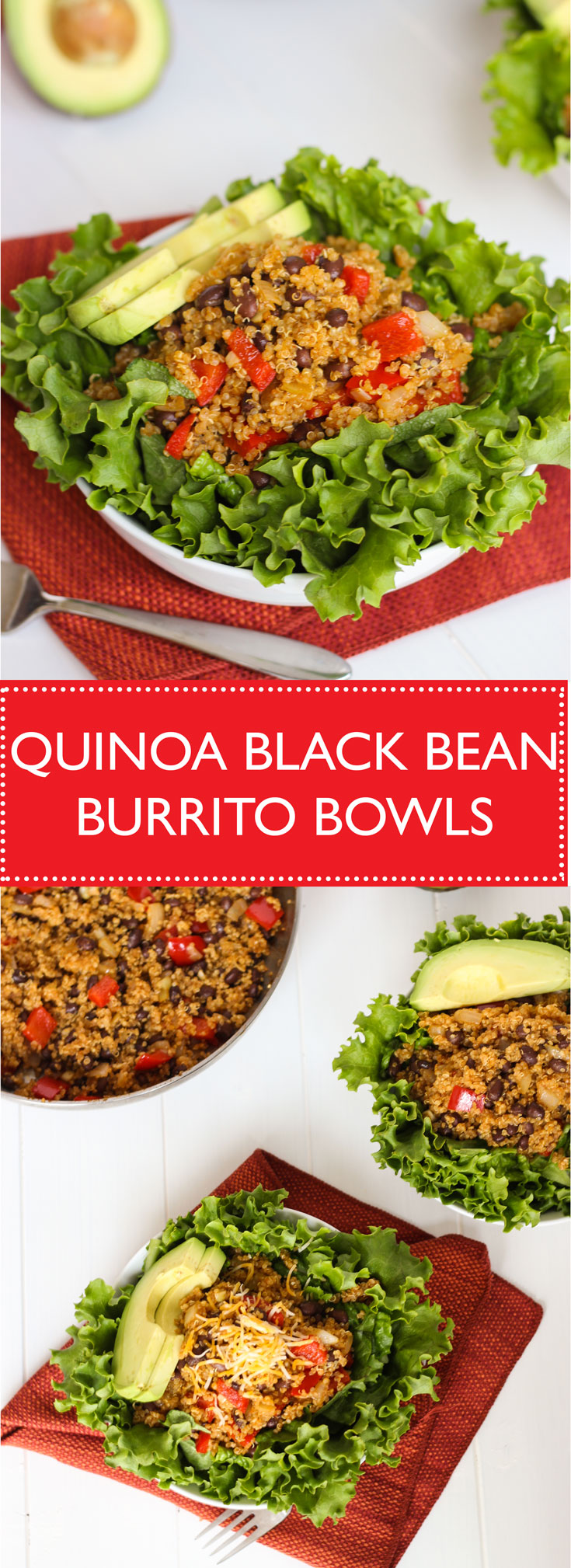 Under 200 calories per serving, these burrito bowls are delicious and healthy!