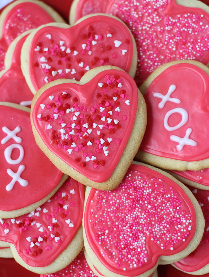 Valentine Cut-Out Cookies // Fork in the Kitchen