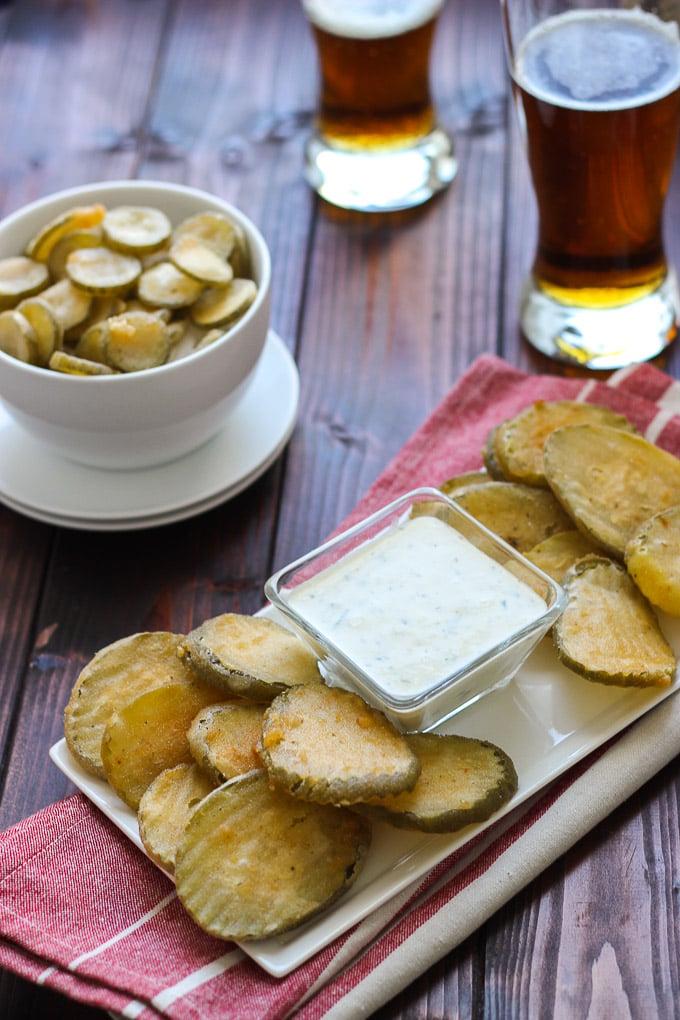 Beer Battered Fried Pickles