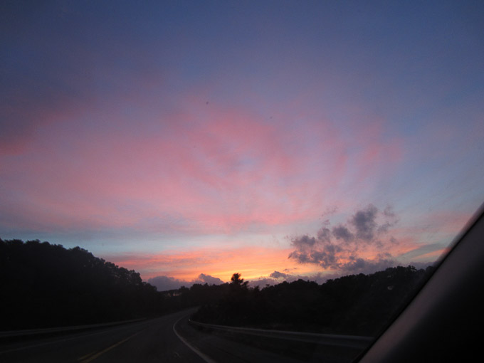 Roadtrip Sunset