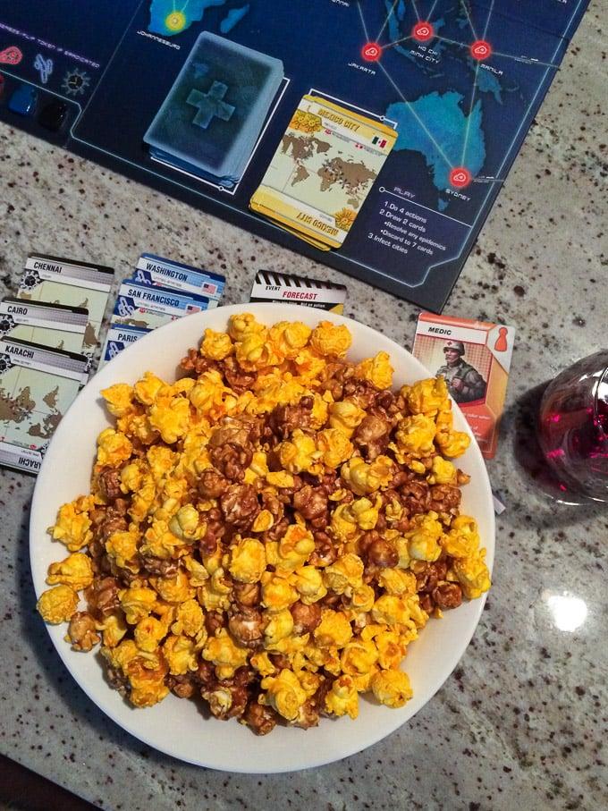 Pandemic Game + Popcorn