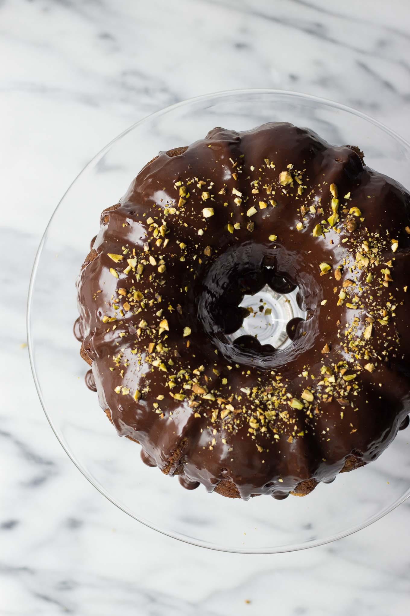 Banana Cake w/ Nutella Ganache // Fork in the Kitchen