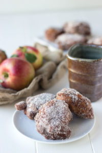 Cinnamon Sugar Apple Fritters // Fork in the Kitchen