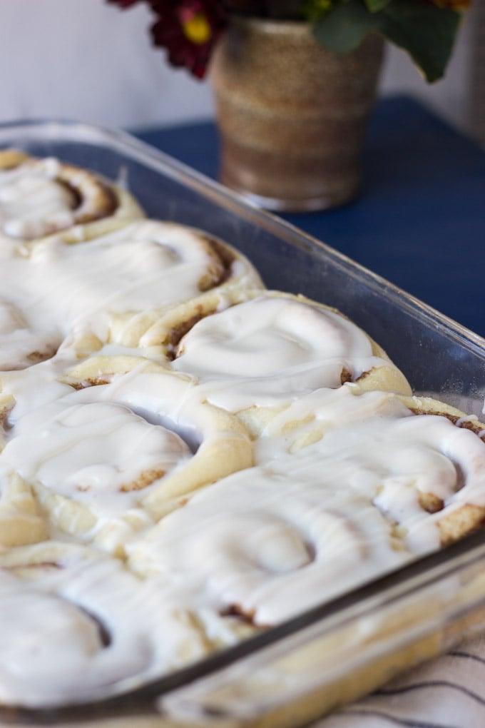 Homemade Buttermilk Cinnamon Rolls | Fork in the Kitchen