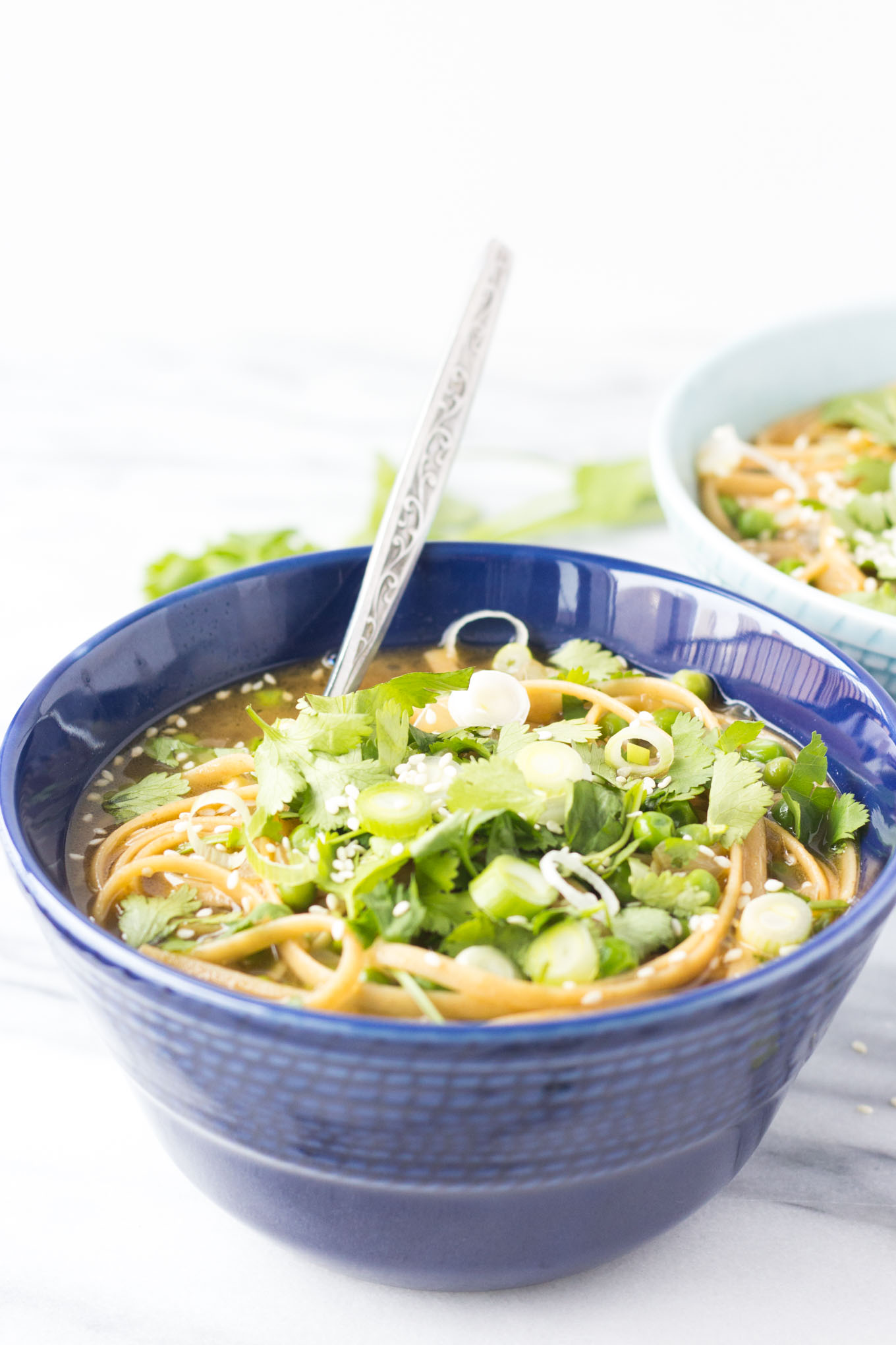 15 Minute Asian Cold Remedy Soup // Fork in the Kitchen