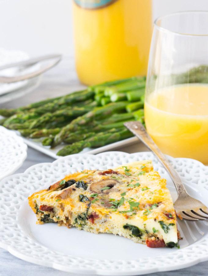 Mediterranean Frittata // Fork in the Kitchen