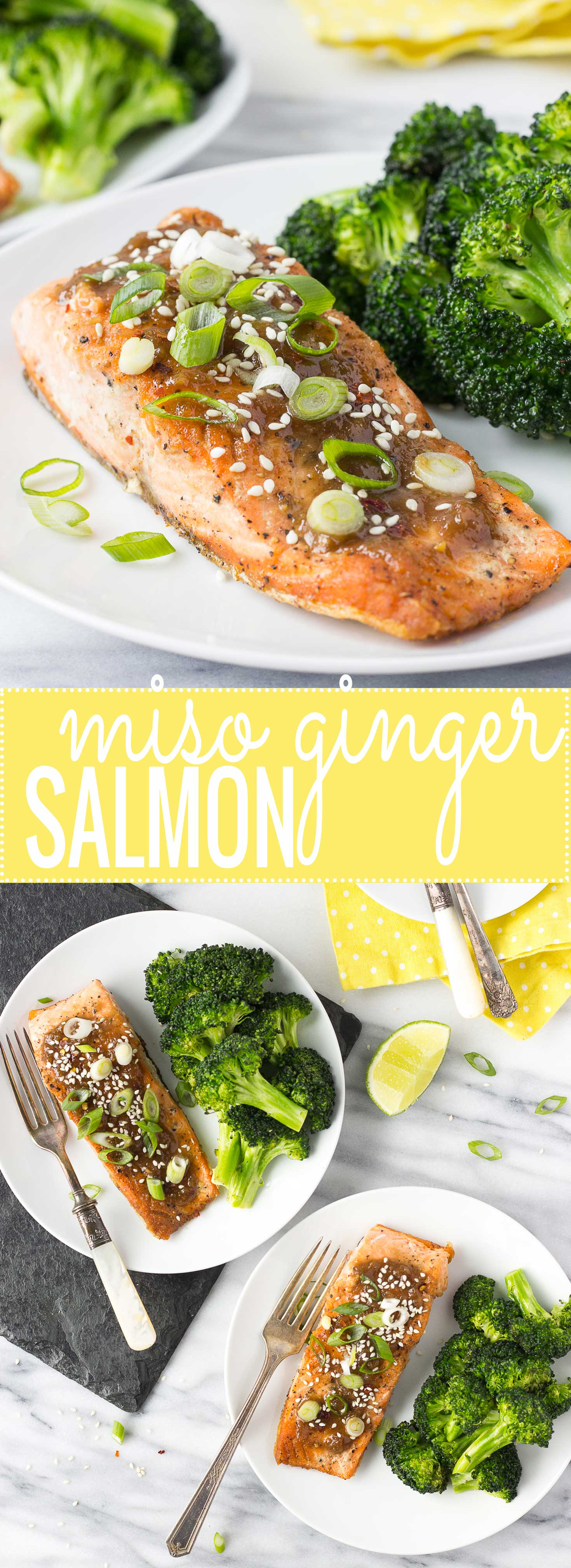 Miso Ginger Salmon | Fork in the Kitchen