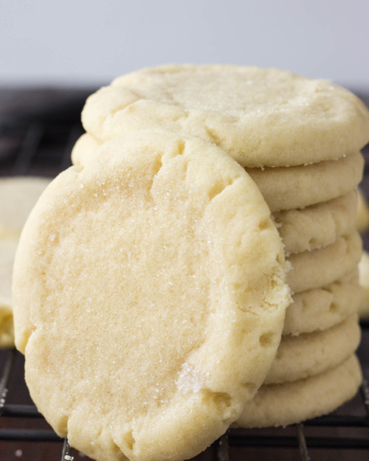 Amazingly Soft Sugar Cookies | Fork in the Kitchen