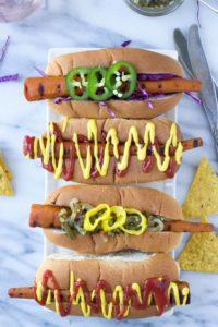 Vegan Carrot Dogs   Fork in the Kitchen