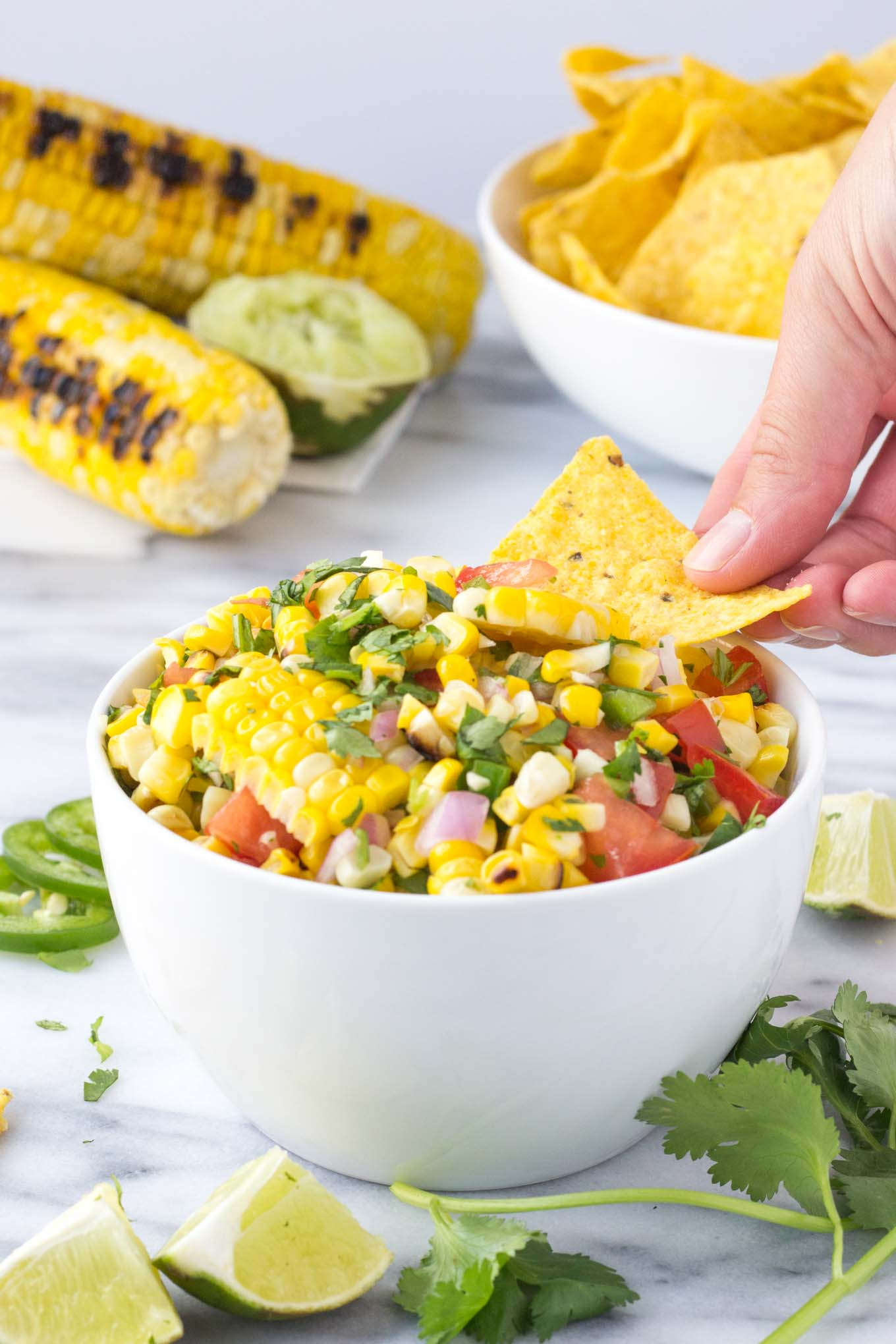 Fresh Sweet Corn Salsa | Fork in the Kitchen