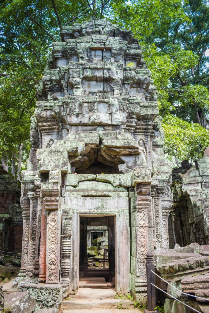 Door way in temple.