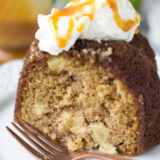 Salted Caramel Apple Cake   Fork in the Kitchen