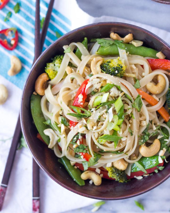 Easy Vegetable Stir Fry Noodles | Fork in the Kitchen