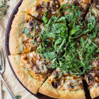 Caramelized Onion and Sweet Potato Pizza   Fork in the Kitchen