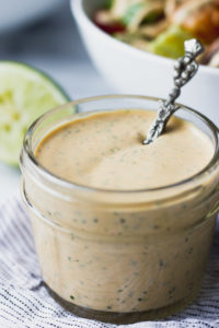 Chipotle Cilantro Dressing | Fork in the Kitchen