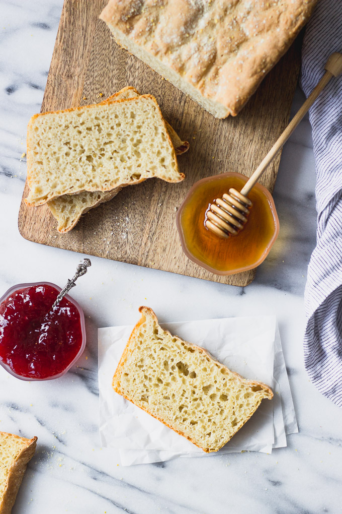 English Muffin Bread   Fork in the Kitchen
