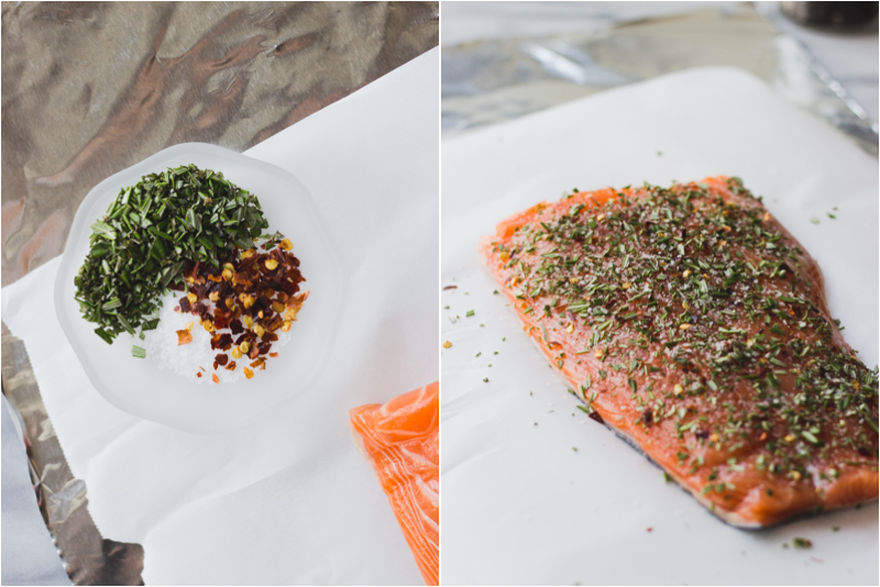 Rosemary Salmon Foil Packet | Fork in the Kitchen