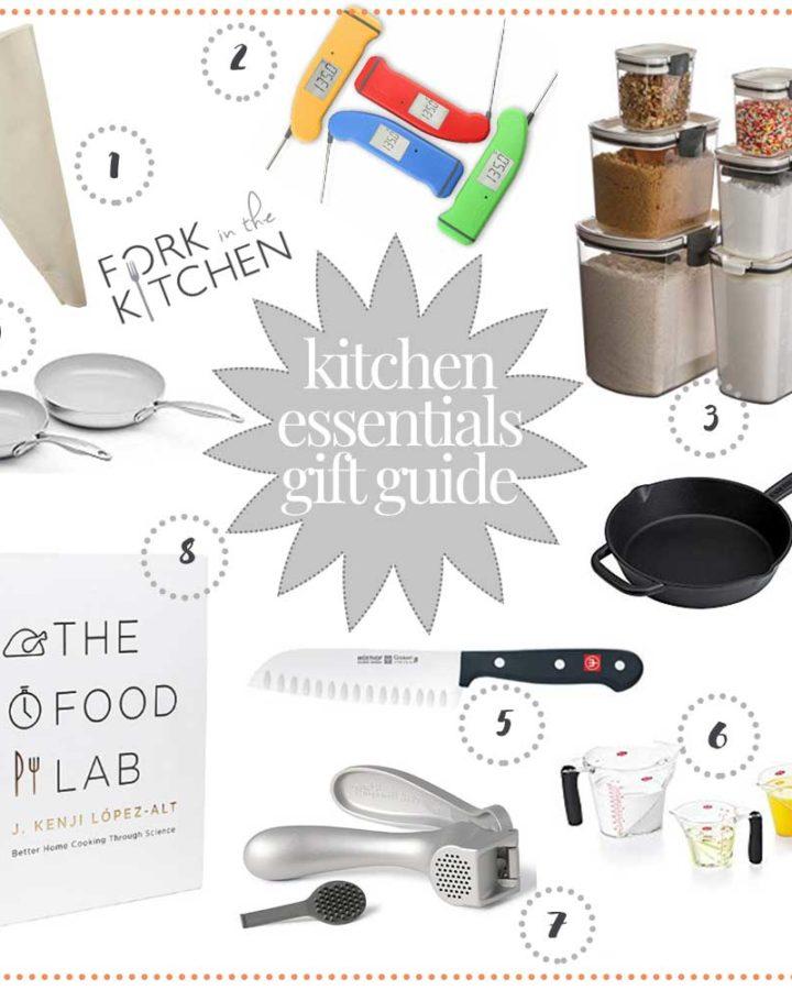 Kitchen Essentials Gift Guide 2018 | Fork in the Kitchen