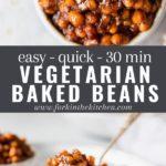 baked beans pinterest image