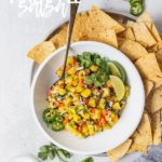 Easy Pineapple Salsa | Fork in the Kitchen