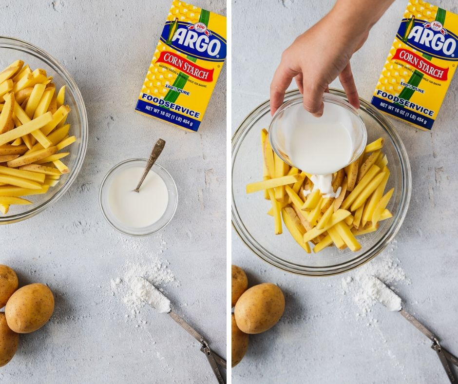 how to make crispy baked fries