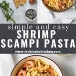shrimp scampi pinterest image