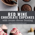red wine cupcakes pinterest image