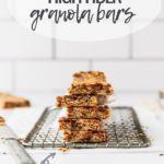 stacked fiber granola bars