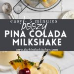 Pina Colada Pinterest Image with Title