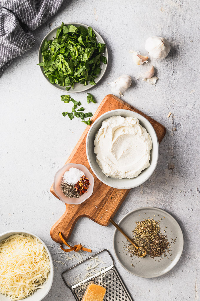 ricotta and spinach filling ingredients