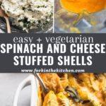 cheesy stuffed shells pinterest image