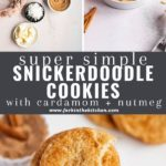 spiced snickerdoodle pinterest image