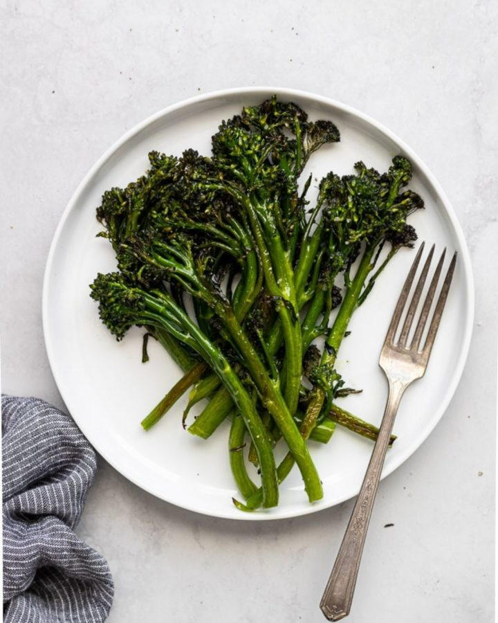 roasted broccolini webstory cover