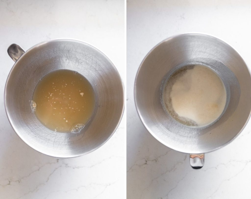 before and after yeast proofing